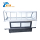 Stainless steel Refrigerated table top mobile deep freezer