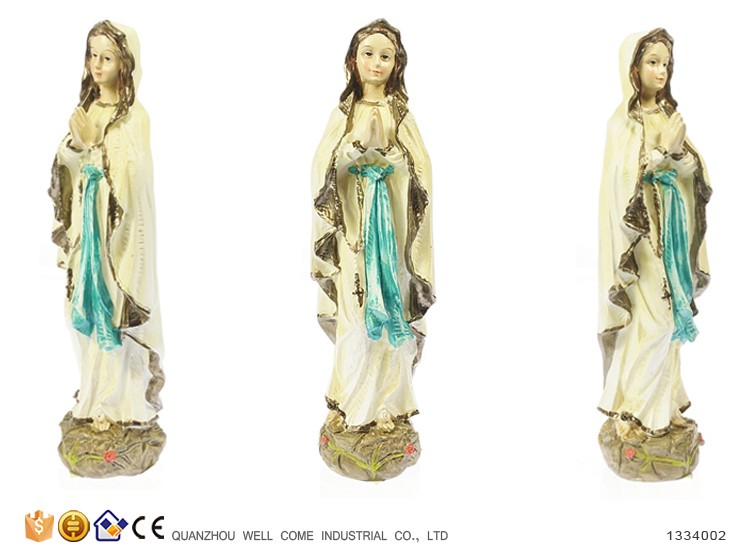 Polyresin Virgin Mary Religious Statues Wholesale