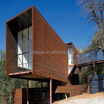Building Decorative Weathering Steel Cladding Buy Steel