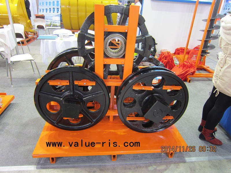 Crane Wheel Assembly for Kobelco P&H 550 AS Crawler Crane