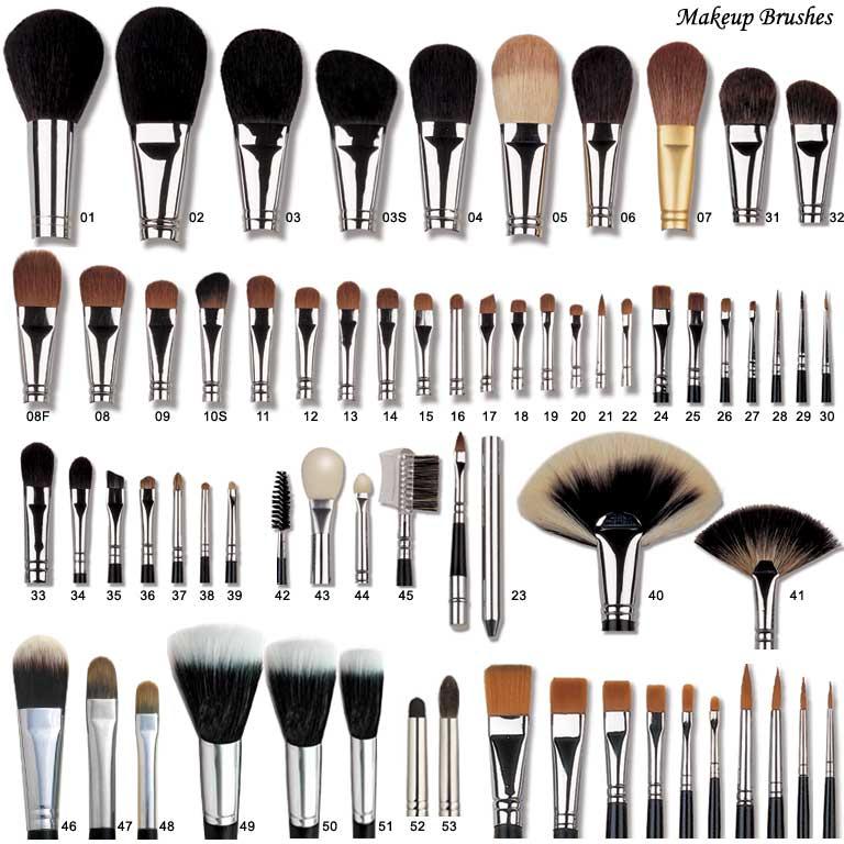 Makeup Brush, Cosmetic Brush, Make up Brush, Brush Set, Kabuki Brush