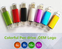 High Quality 32gb transcend pen drive with custom logo usb flash drive