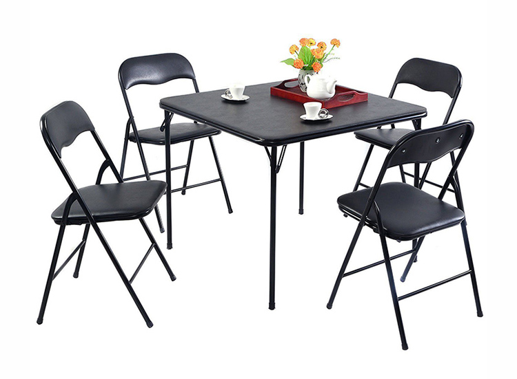 Slate Top Dining Table Set Casey 5pc