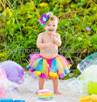 9cb9e1c118 Good quality baby girl skirt kids rainbow tutu skirts hot selling pettiskirt  tutu freeshipping for custome
