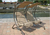 Patio Garden Furniture/ DoubleSwing Hanging Chair/ loveseat swing