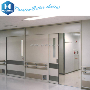2017 High quality Hospital Automatic hermetic Sliding door ,automatic sliding door mechanism