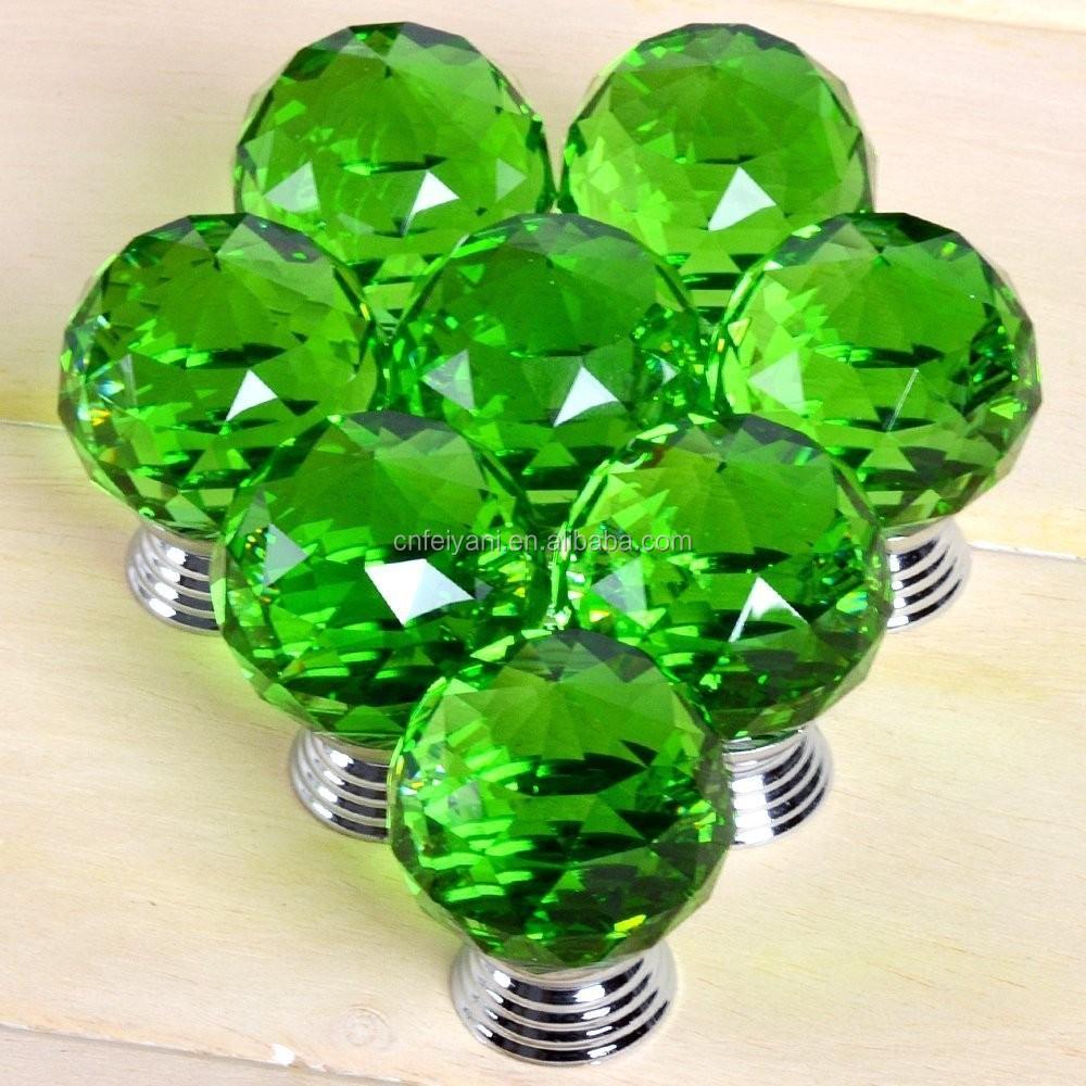 Kristal Keuken Handgrepen : Diamant Kristal Glas Deurknop Lade Keuken Kast kast