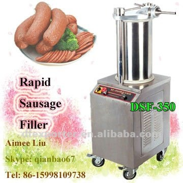 Hydraulic rapid sausage filler for commercial service,made in China