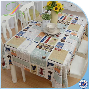 PVC PP Laminated Tnt Non Woven Table Cloth Roll