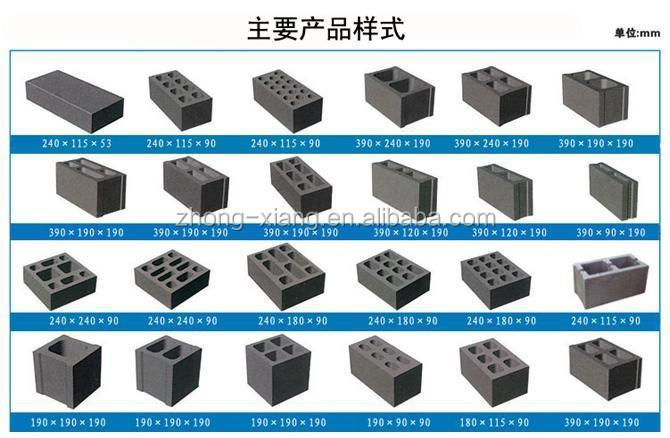 Hollow Cement Ventilation Electric Block Making Brick ...