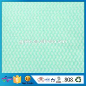 Customized 100% Nonwoven Fabric In Stocklot Spunlace Nonwoven
