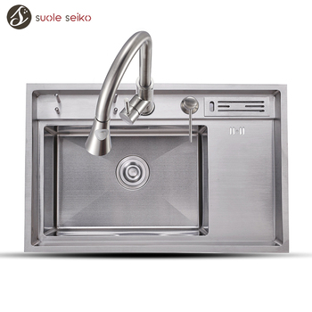 Factory Hot Sale Vintage Kitchen Deep Small Stainless Steel Sink