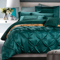 Bedding sheet quilt cover bedding sets washed silk Lot 4 pcs bedding sets