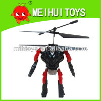 Most popular infrared 2.5ch RC flying robot toys 2.5CH RC fighting robot toys