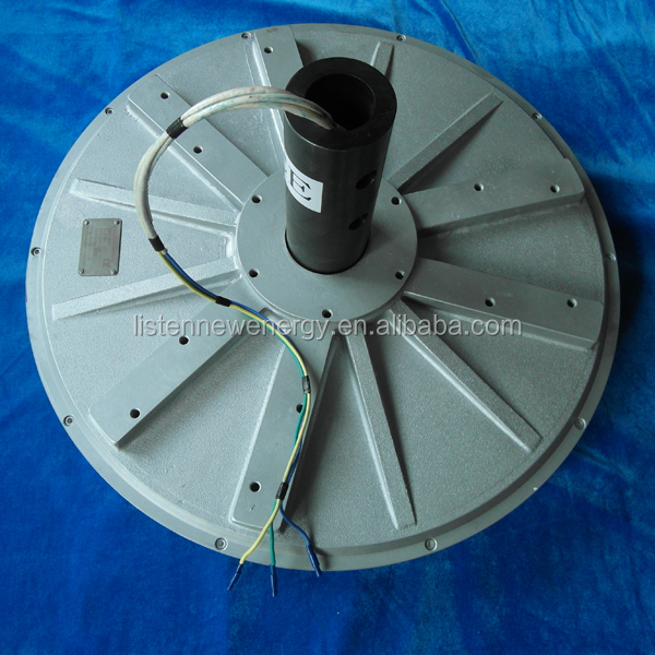 PMG770 10KW disc coreless wind turbine generator outer Rotor Three-Phase vertical axis Permanent Magnet Generator