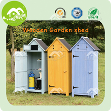 Handcarft spacious wood cabinet, garden storage shed
