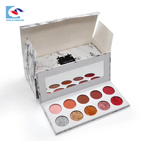 SENCAI cheaper oem private label marble empty eyeshadow palette box