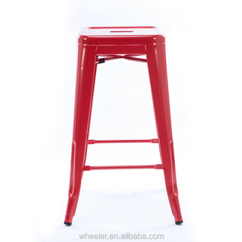 Stupendous High Quality Red Industrial Vintage Stainless Steel Metal Bar Stool Supplier Kitchen Restaurant Buy Bar Stool Metal Bar Stool Vintage Metal Bar Cjindustries Chair Design For Home Cjindustriesco