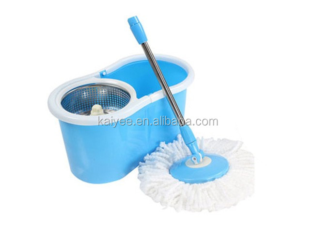 360 Tornado Mop 와 Green Bucket, Rotating Magic Mop 360