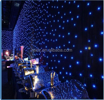 festive party christmas light supplies white fireproof velvet fabric backdrop rgb led bulb lighting star