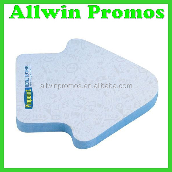 Promotional Adhesive Arrow Sticky Note