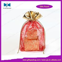 Packaging fashion jewelry personalized organza bags