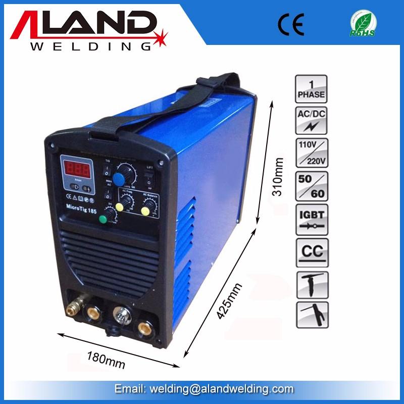 Portable Igbt Inverter Ac Dc Tig 185 China Welding Machine
