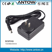 12V 2 amp power adapter power supply from ISO 9001 ISO 14001 factory