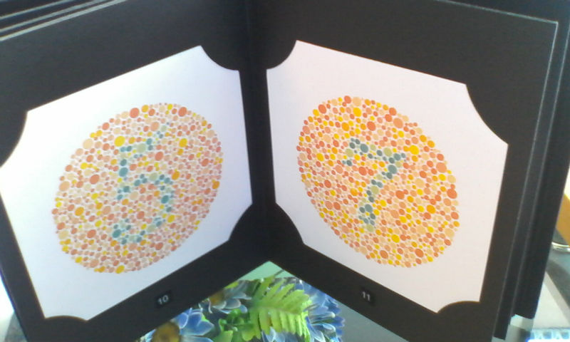 Colour Blindness Test Book