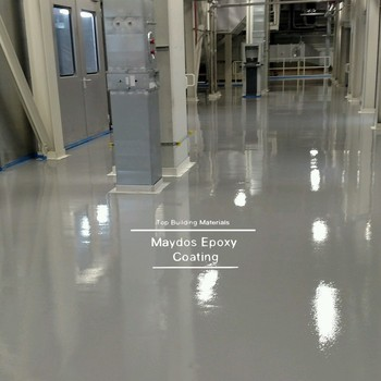 Food Grade Self Leveling Epoxy Floor Paint For Hospital Office Flooring  Food Factory Pharmacy Plant