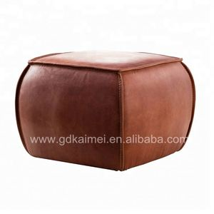 New Product Cube Ottoman Leather Ottoman Puff Ottoman for Sale