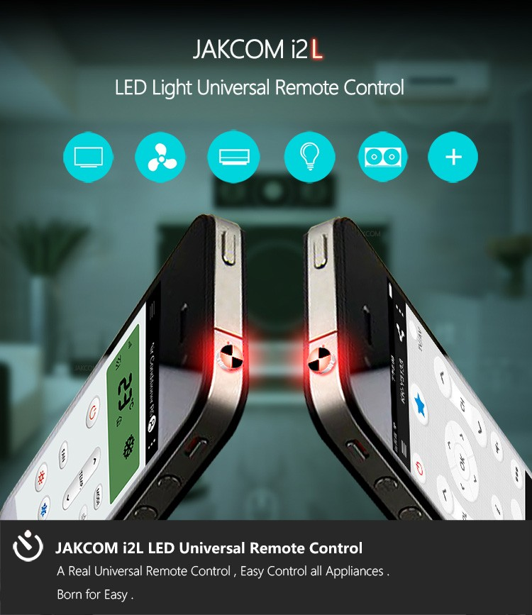 Jakcom Universal Remote Control Ir Wireless For Iphone Mobile Accessories  Led Light Tv Wifi Smart Home Controller System Switch - Buy Universal  Remote