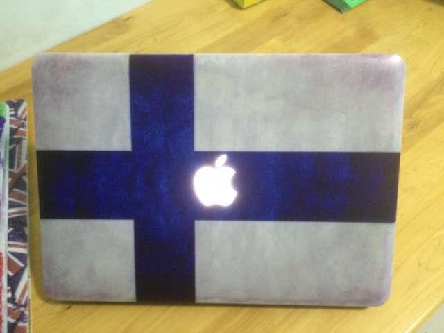 Country Flag Image Rubber Folio Cases For Macbook Air Retina Pro 13 11 15 inch 1706 1708 2017 2016