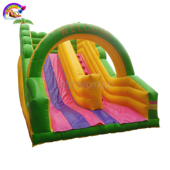 Outdoor Giant Cheap Inflatable Slide For Kids