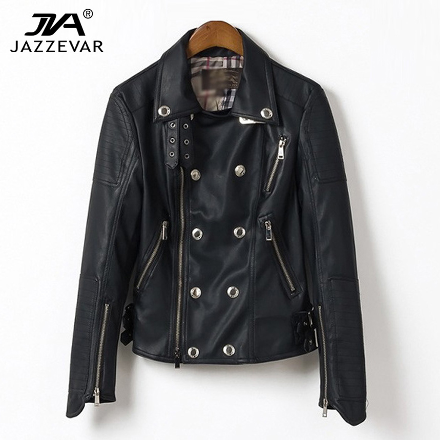 2014 spring top quality new Fashion/punk/rock/street style Women's Rivet PU Leather Short Motorcycle Jackets Outerwear for Lady