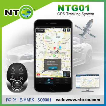 Nto Gps Car Tracker With New App Interface