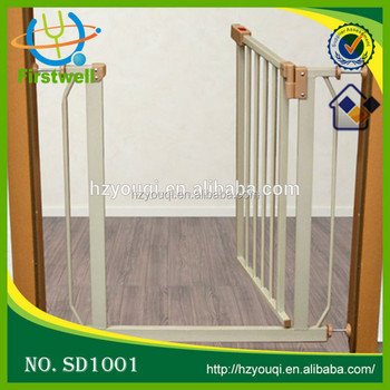 Secure Step Top Of Stairs Gate Baby Door Barrier