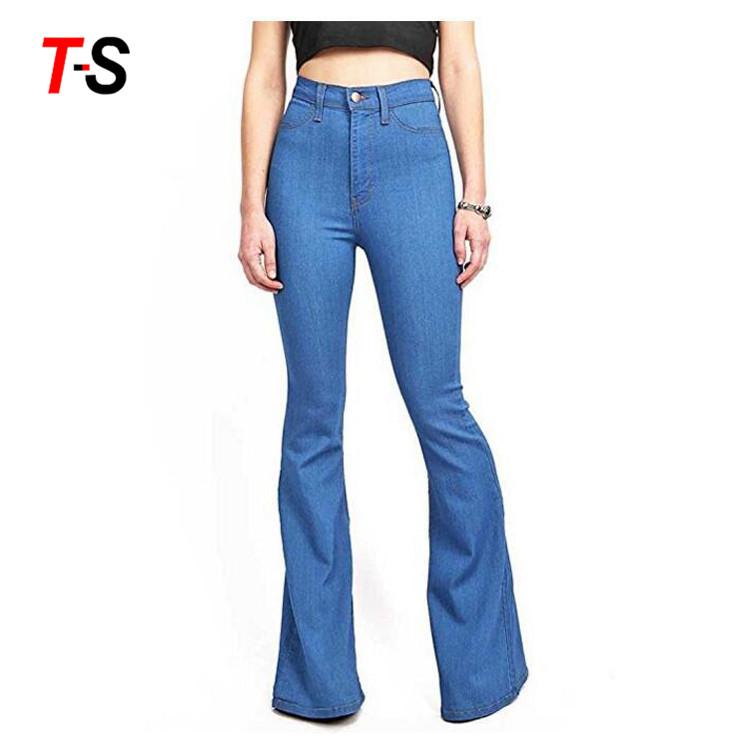 d1a5dc3d Venta al por mayor pantalones clasicos para mujer en jeans-Compre ...