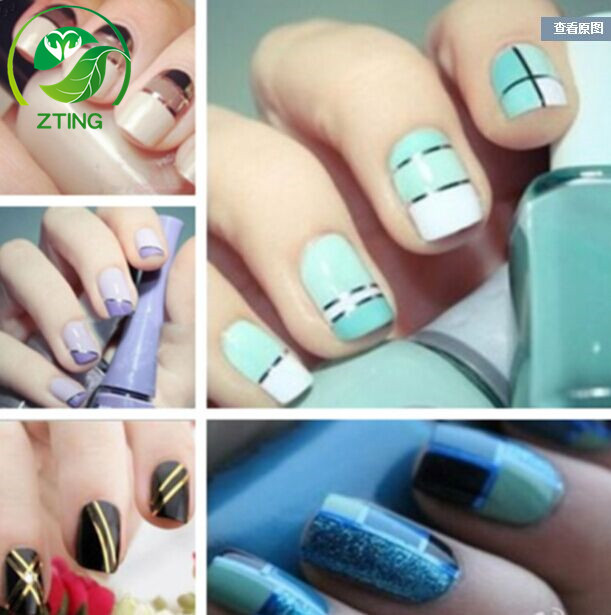 Hot Zting Mixed Colors Rolls Striping Tape Line Nail Art Tips Beauty ...