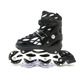 2018 New Style Custom Design PU Wheels Aluminum Frame Kids Inline Skating Shoes