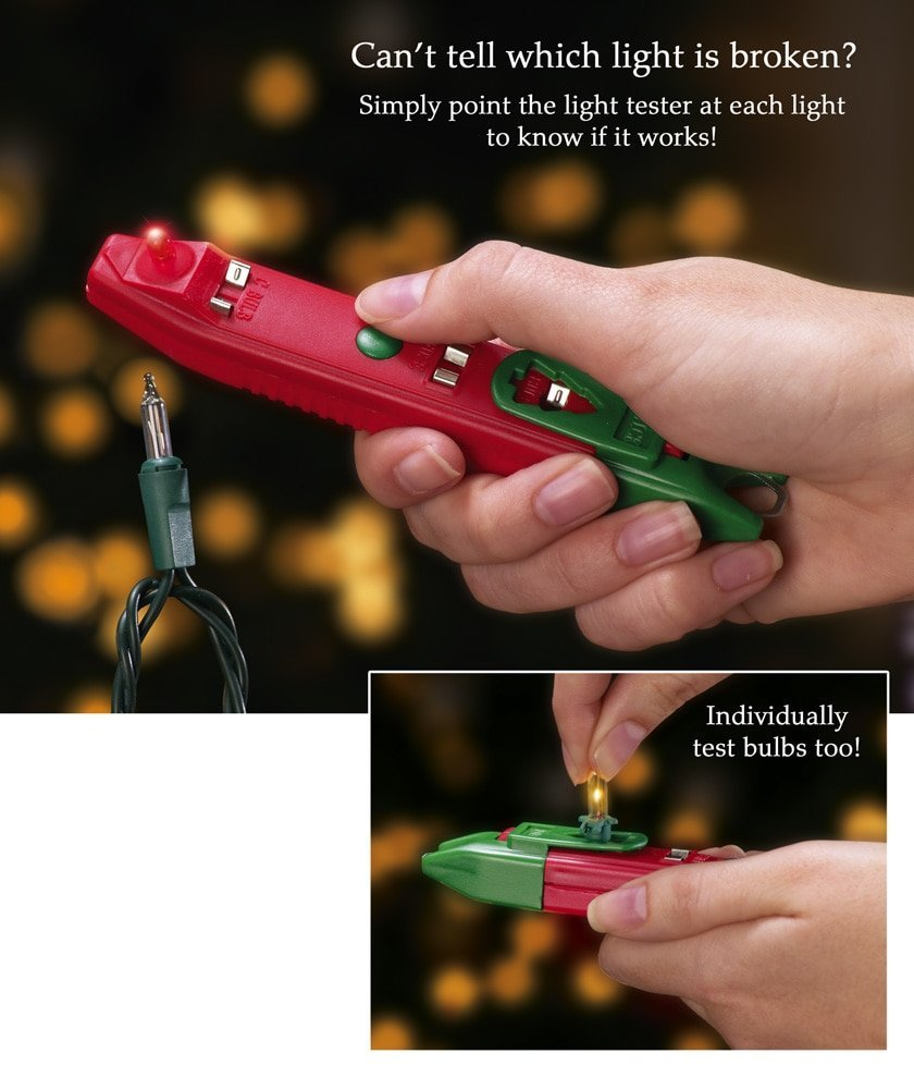 get quotations christmas light tester