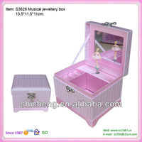 Favor music box for kids with notebook