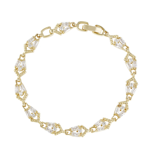 74642 Xuping high quality fashion gold plated women chains bracelet for sale