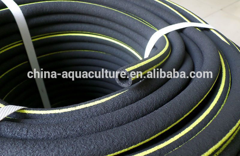 Farm Ponds Rubber Aeration Hose Agricultural Aeration Tube