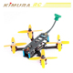 A-max Cube130H 130mm Wheelbase 2.5mm Arm Carbon Fiber FPV Racing Frame Kit 31g RC Racer Drone Quadcopter Helicopter