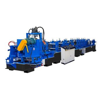 Metal roofing z purlin roll forming line sheet metal roll forming machine SZ300
