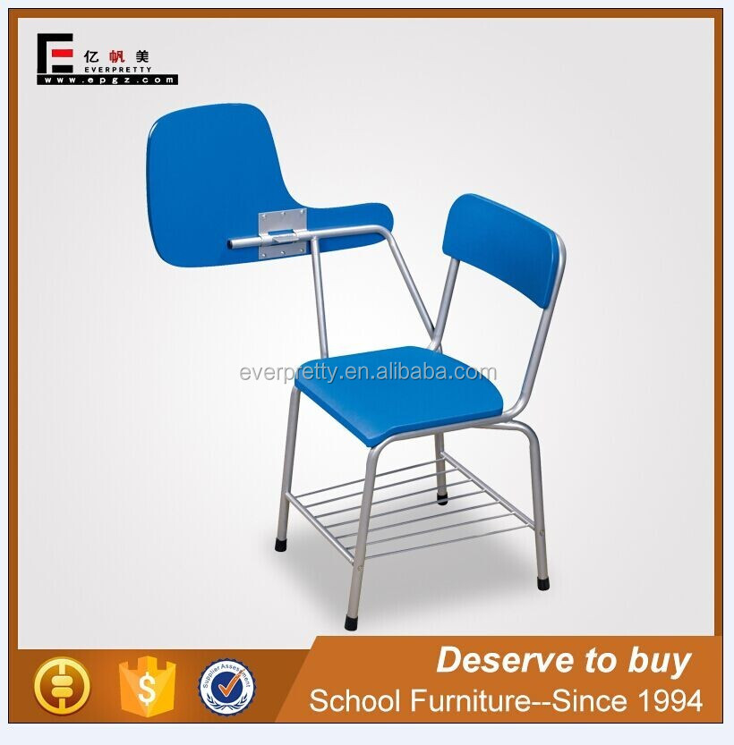 School furniture supplier, plywood school chair, tablet school chairs