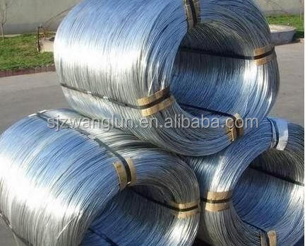 Low price soft hot dipped galvanized iron wire of different gauge (really factory )