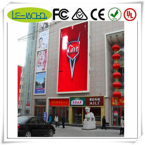 beer sign acrylic light box display indoor smd led billboard p4 with full color outdoor p8 led display