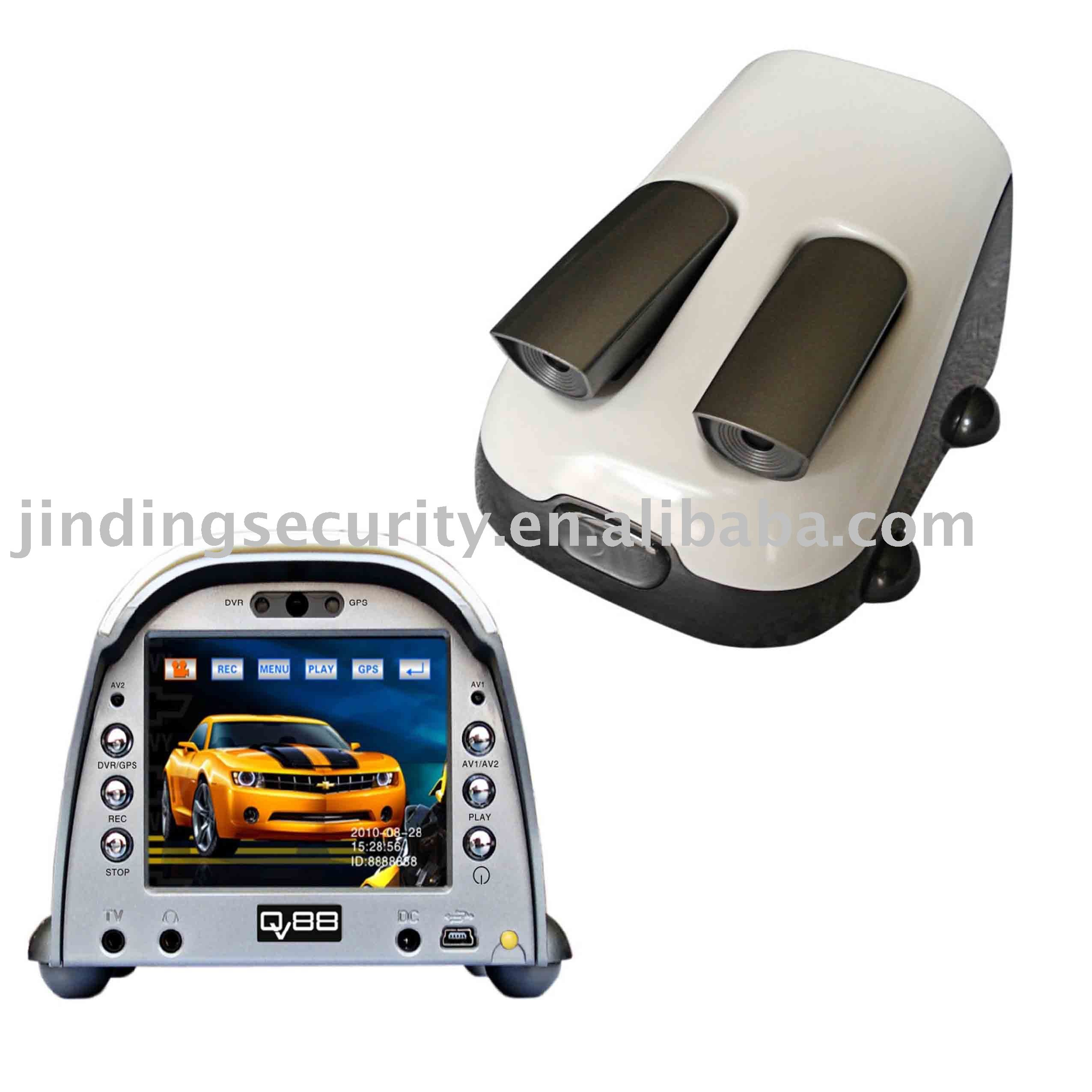 "Car black box with GPS navigation, 3.5"" touch screen, Mp4,Mp3, E-book"